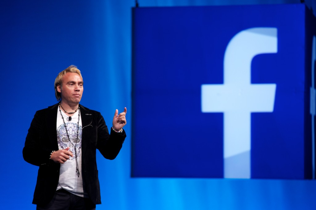 Keynote at Facebook Annual Conference in San Francisco