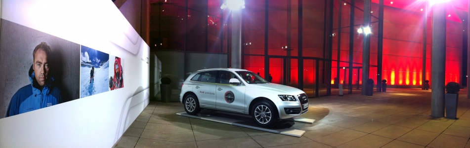 Johan Ernst display at the AUDI annual conference