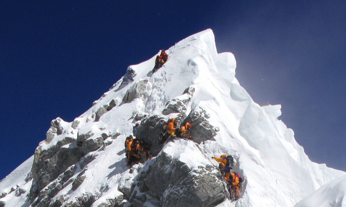 Hillary Step - Mount Everest